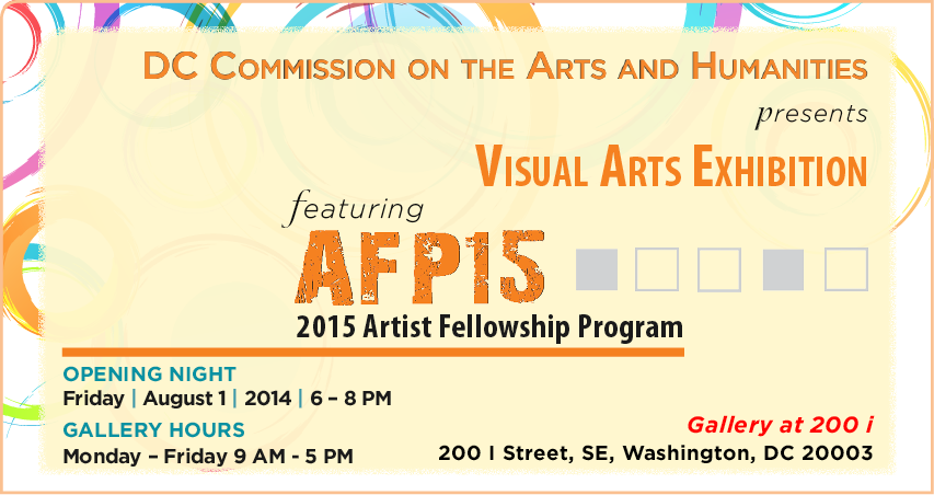 2015 Artist Fellowship Program: Visual Arts Exhibition