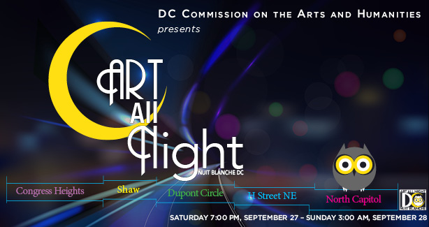 Art All Night : Nuit Blanche DC