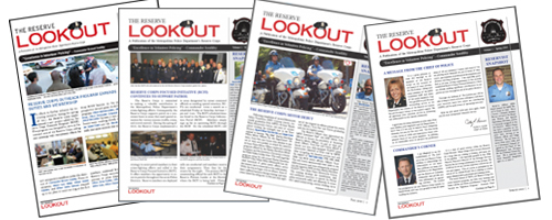 image of issues of Lookout newsletters