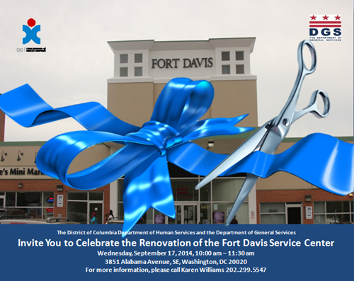 Fort Davis Service Center Ribbon Cutting Ceremony Flyer September 17, 2014 at 10 am (Download an accessible version of the flyer, below)