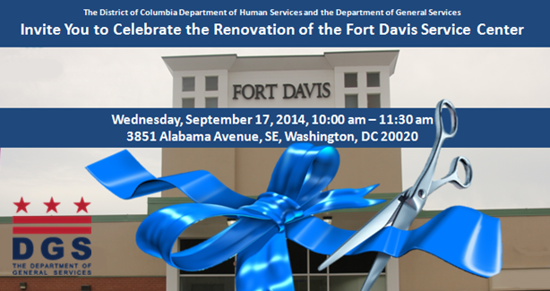 Fort Davis Service Center Ribbon Cutting September 17, 2014
