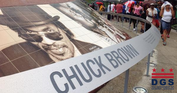 Chuck Brown Memorial Park Ribbon Cutting
