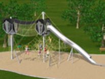Lafayette Play DC Playground Project - New Playground Equipment Rendering 1