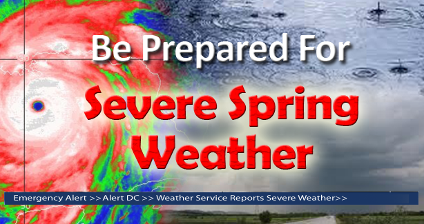 Be Prepared for Severe Spring Weather