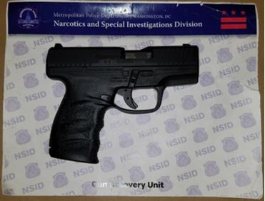 MPD's Weekly Firearm Recoveries: October 7, 2019 to October 14, 2019