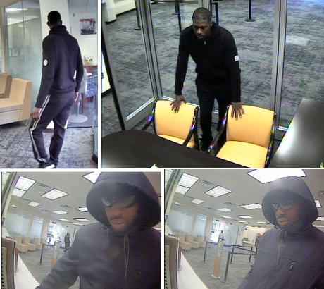 Suspects Sought in an Unarmed Bank Robbery Offense: 1300 Block of Good Hope Road, Southeast