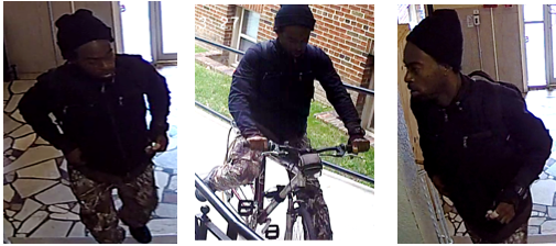 Suspect Sought in a Robbery (Force and Violence) Offense: 5900 Block of 13th Street, Northwest