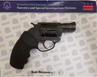 MPD's Weekly Firearm Recoveries: October 28, 2019 to November 5, 2019