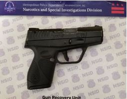 MPD's Weekly Firearm Recoveries: December 2, 2019 to December 9, 2019