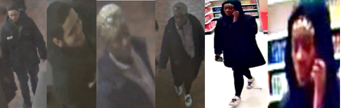 Suspects Sought in Robbery and Assault with a Dangerous Weapon Offenses in the First and Third Districts