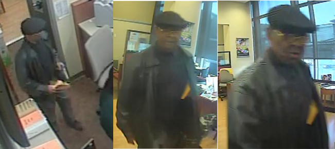 Suspect Sought in an Armed Bank Robbery (Gun) Offense: 300 Block of H Street, Northeast