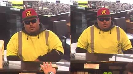Suspect Sought in an Unarmed Bank Robbery Offense: 1700 Block of Connecticut Avenue, Northwest