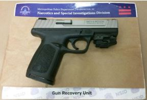 MPD's Weekly Firearm Recoveries: May 13, 2019 to May 20, 2019