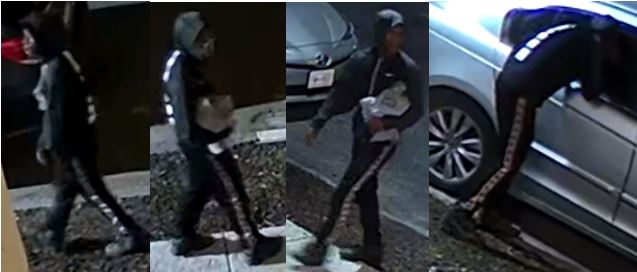 Suspect Sought in Theft from Auto Offenses: 1300 Block of K Street, Southeast