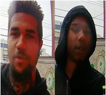 Suspects Sought in a Robbery (Force and Violence) Offense: 2200 Block of 25th Place, Northeast