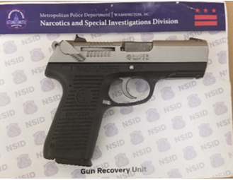 MPD's Weekly Firearm Recoveries: June 17, 2019 to June 24