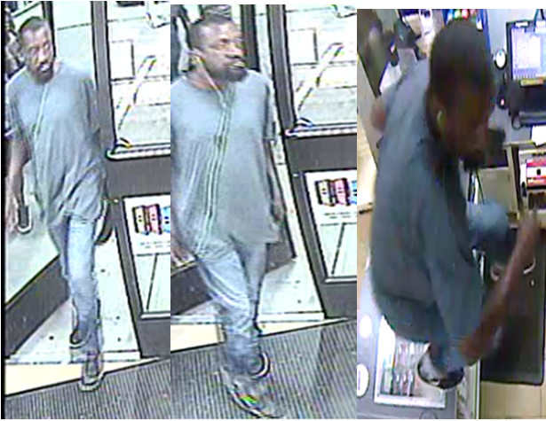 Suspect Sought in Theft Two of an Establishment Offenses