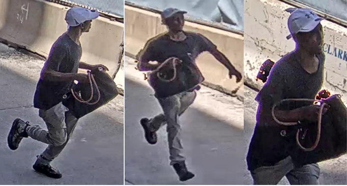 Suspect Sought in a Robbery (Snatch) Offense: 1100 Block of Connecticut Avenue, Northwest