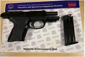 MPD's Weekly Firearm Recoveries: July 1, 2019 to July 8, 2019