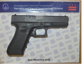 MPD's Weekly Firearm Recoveries: August 12, 2019 to August