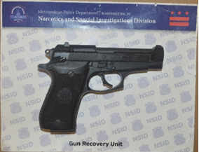 MPD's Weekly Firearm Recoveries: August 12, 2019 to August 19, 2019