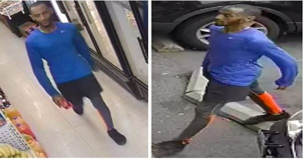 Suspect Sought in a Robbery (Force and Violence) Offense: 7700 Block of Eastern Avenue, Northwest