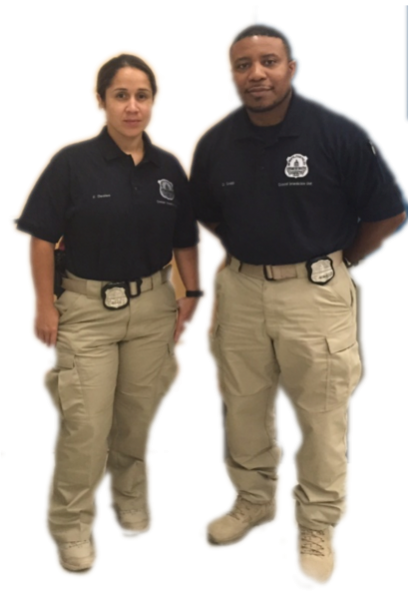 The Criminal Interdiction Unit uniform