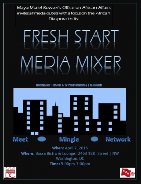 Media mixer flyer