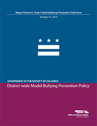 Download the District-wide Model Bullying Prevention Policy