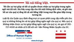 I Speak Vietnamese Card
