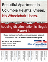 Download Housing Discrimination Poster: Disability