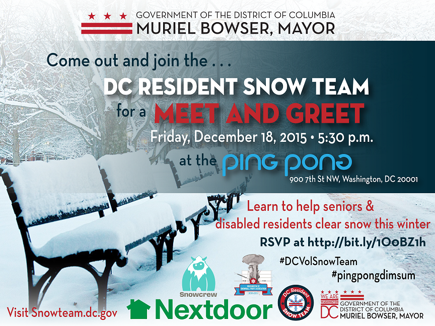 Snow Team Meet & Greet