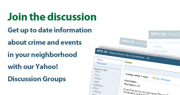 screen shot of email discussion group page