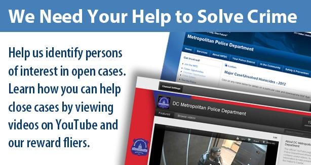 We Need Your Help to Solve Crime