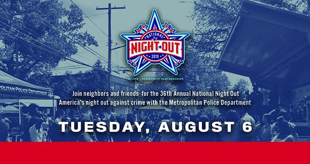 National Night Out: August 6, 2019