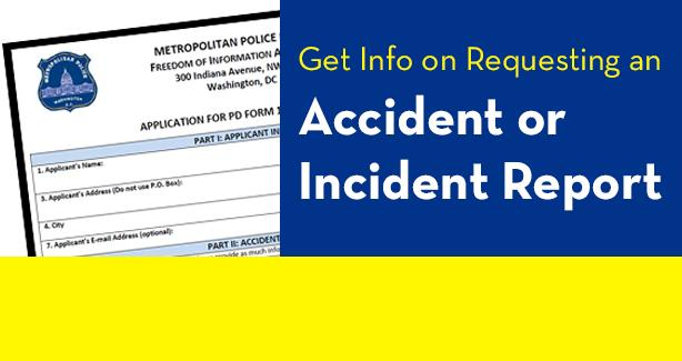Request an Accident or Incident Report