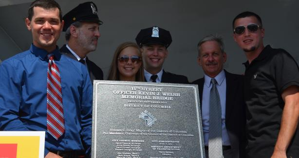 Dedication of the 11th Street Bridge