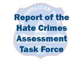 Report of the Hate Crimes Assessment Task Force