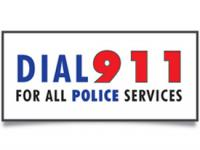 text reads Dial 911 for All Police Services