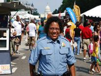 photo of female of color officer