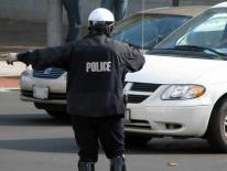 MPD Officer Directing Traffic