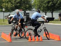 photo of police officers on bikes