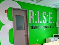R.I.S.E. Demonstration Center at St. Elizabeths East - entrance