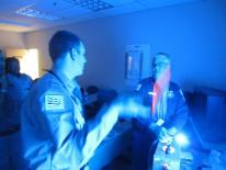 Recruit Class in Forensics Training