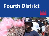 Fourth District (small header flag with community image)