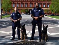 K-9 Handler Giannini and Dyson - NLEOM Photo