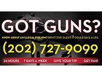 Firearms Reward Tip Hotline
