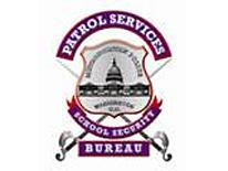 Patrol Services Bureau logo with crossed swords