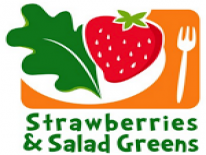 Strawberries and Salad Greens logo